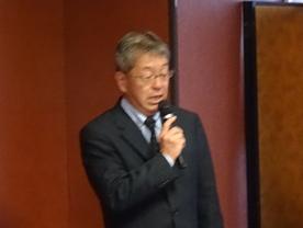杉本会長の挨拶