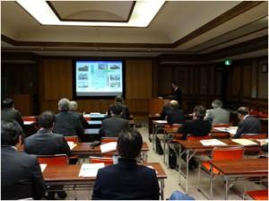 滋賀県工業技術センター月瀬所長の挨拶